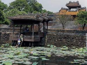 Tombe de Tu Duc a Hue