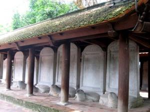 Steles des docteurs du temple de la litterature