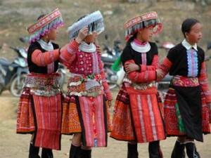 jupe des Hmong