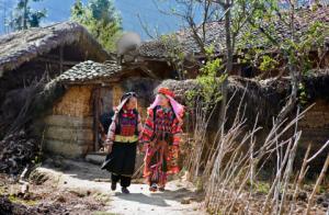 l'ethnie de Lo Lo a Ha Giang