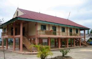 maison sur pilotis des Thai