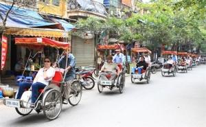Pousse-pousse a Hanoi