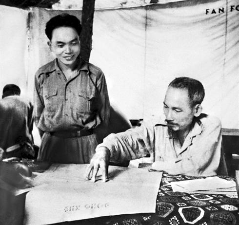Le general Vo Nguyen Giap