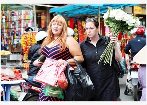 marche des fleures de la vielle ville3