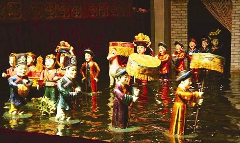 Spectacles des Marionnettes sur l'eau