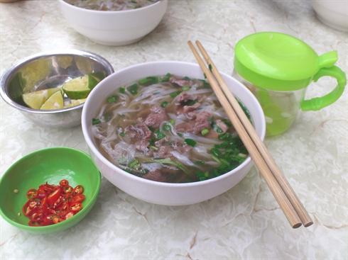 le Pho de Hanoi