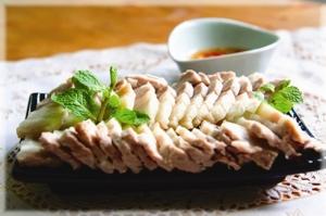 Poitrine de porc à la sauce