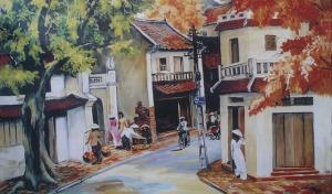 la-rue-de-hanoi-den-peinture