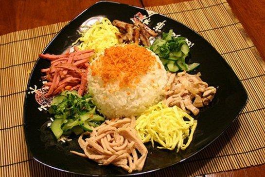 Pour convaincre les gourmets, ce plat doit beaucoup au choix du riz qui étant de très bonne qualité, liant et parfumé.