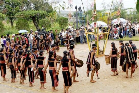L'espace de la culture de gong de Tây Nguyên, reconnu en 2005 par l'Unesco