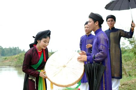 """Les chants """"quan ho"""" Bac Ninh, reconnus depuis 2009"""