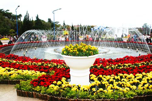 parc des fleurs