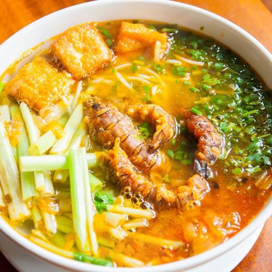 vermicelles aux crevettes mantes