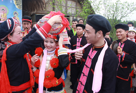 mariage de dao rouge sapa 1