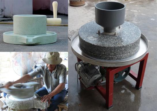 moulin de pierre pour ravioli en rouleau