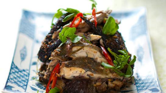 sapa poulet noir