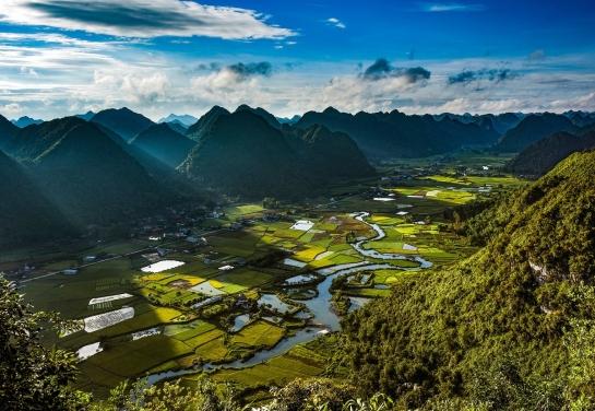 visiter nord vietnam rizieres de bac son lever soleil.jpg