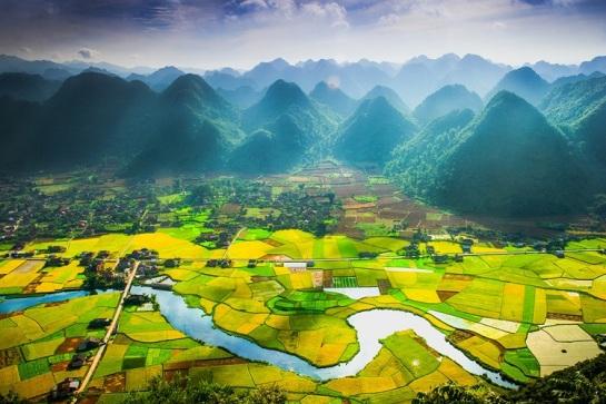 visiter nord vietnam rizieres de bac son