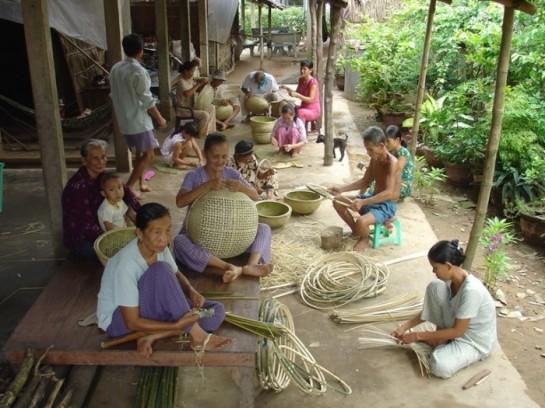 visite ben tre delta du mekong artisanat.JPG