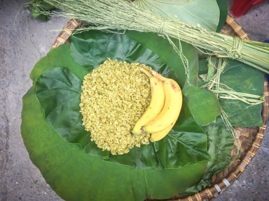 plats populaires de hanoi automne riz gluant.jpg